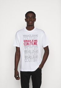 Versace Jeans Couture - MOUSE - Print T-shirt - white - 0