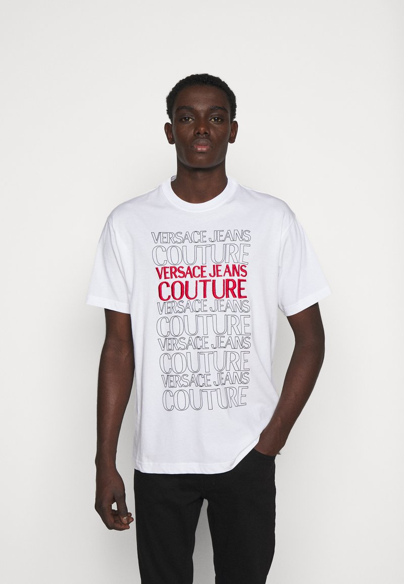 Versace Jeans Couture - MOUSE - Print T-shirt - white