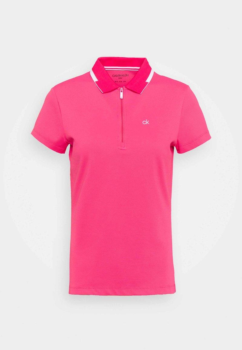 Calvin Klein Golf - NESS CAP SLEEVE - Polo shirt - jete