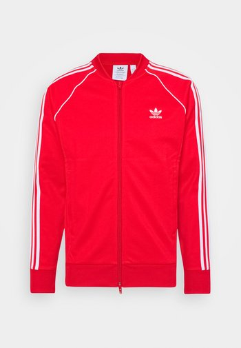 Giacca sportiva - red/white