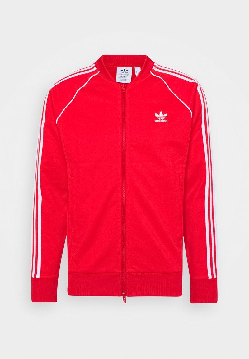 adidas Originals - Kurtka sportowa - red/white