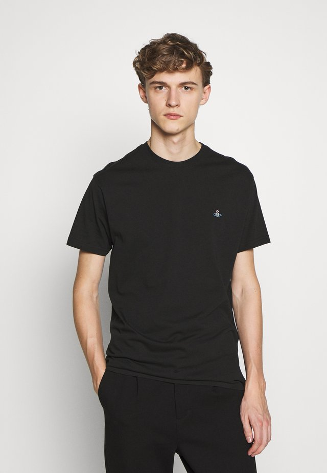 BOXY T-SHIRT - T-shirt basic - black