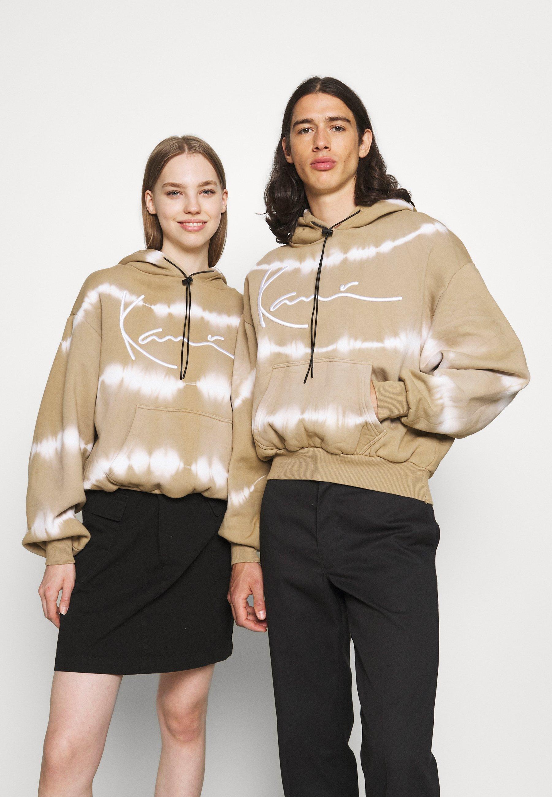 Women SIGNATURE TIE DYE OVERSIZE HOODIE UNISEX  - Sweatshirt
