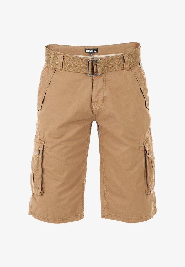 RIVANTON - Shorts - camel beige