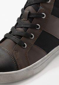 Friboo - Vysoké tenisky - dark brown - 2