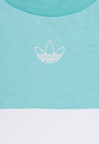 adidas Originals - PANEL TEE - Print T-shirt - turquoise - 3
