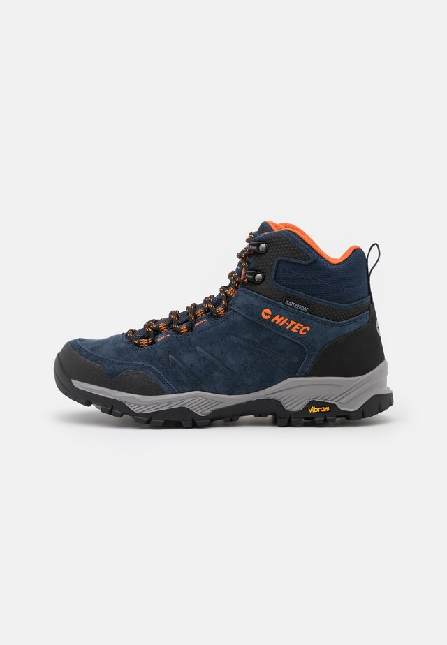 ENDEAVOUR WP - Obuwie hikingowe - navy/black/orange