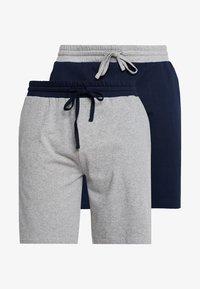 Pier One - 2 PACK - Pyjamasbyxor - grey/dark blue - 3