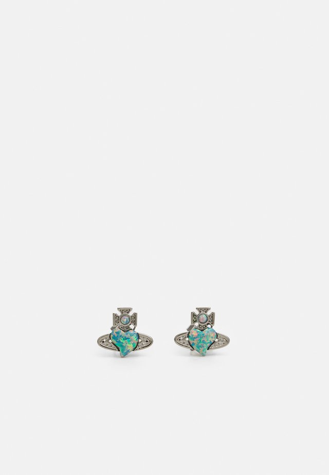 CISSY EARRINGS - Korvakorut - blue/grey