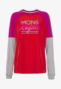 Mons Royale - TARN FREERIDE WIND - Funktionsshirt - punk baby - 3