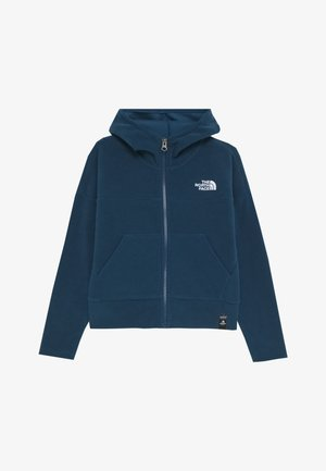 GIRL'S GLACIER FULL ZIP HOODIE - Fleece jacket - blue wing teal