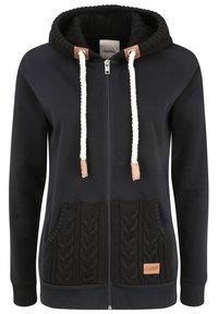 Oxmo - MATILDA - Zip-up hoodie - black - 11