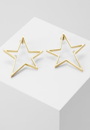 OPEN STAR LARGE - Earrings - gold-coloured