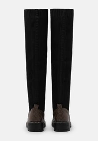 River Island Wide Fit - Over-the-knee boots - brown/black - 3
