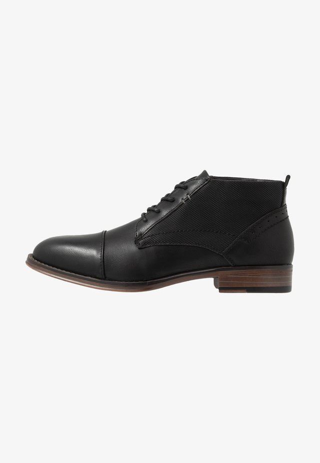 JEGGAN - Smart lace-ups - black