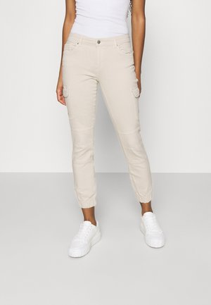 ONLMISSOURI LIFE - Pantalones cargo - ecru