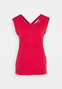 Ragwear - SOFIA - Basic T-shirt - red - 0