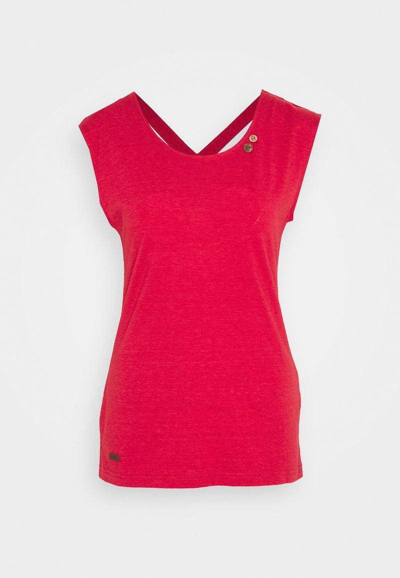 Ragwear - SOFIA - Basic T-shirt - red