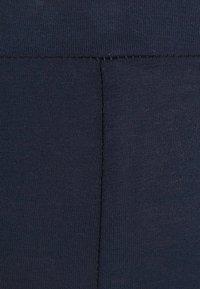 MAMALICIOUS - MLMIRA PINTUCK - Leggings - navy blazer - 5