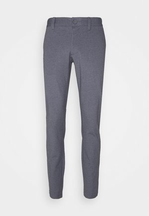 ONSMARK TAP PANT CHECK - Pantalon classique - dark navy