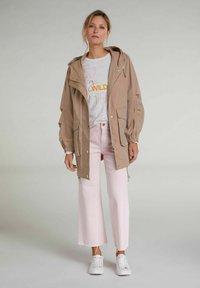 Oui - CULOTTE - Flared Jeans - peach whip - 1