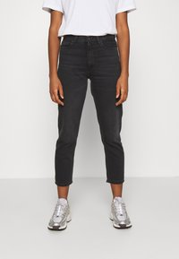 Carhartt WIP - PAGE CARROT ANKLE PANT - Jeans Tapered Fit - black - 0