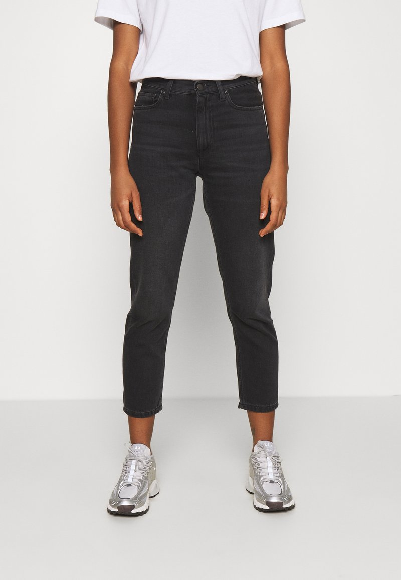 Carhartt WIP - PAGE CARROT ANKLE PANT - Jeans Tapered Fit - black