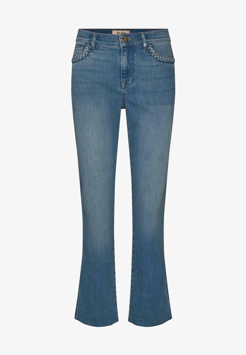 Mos Mosh - Bootcut jeans - blue