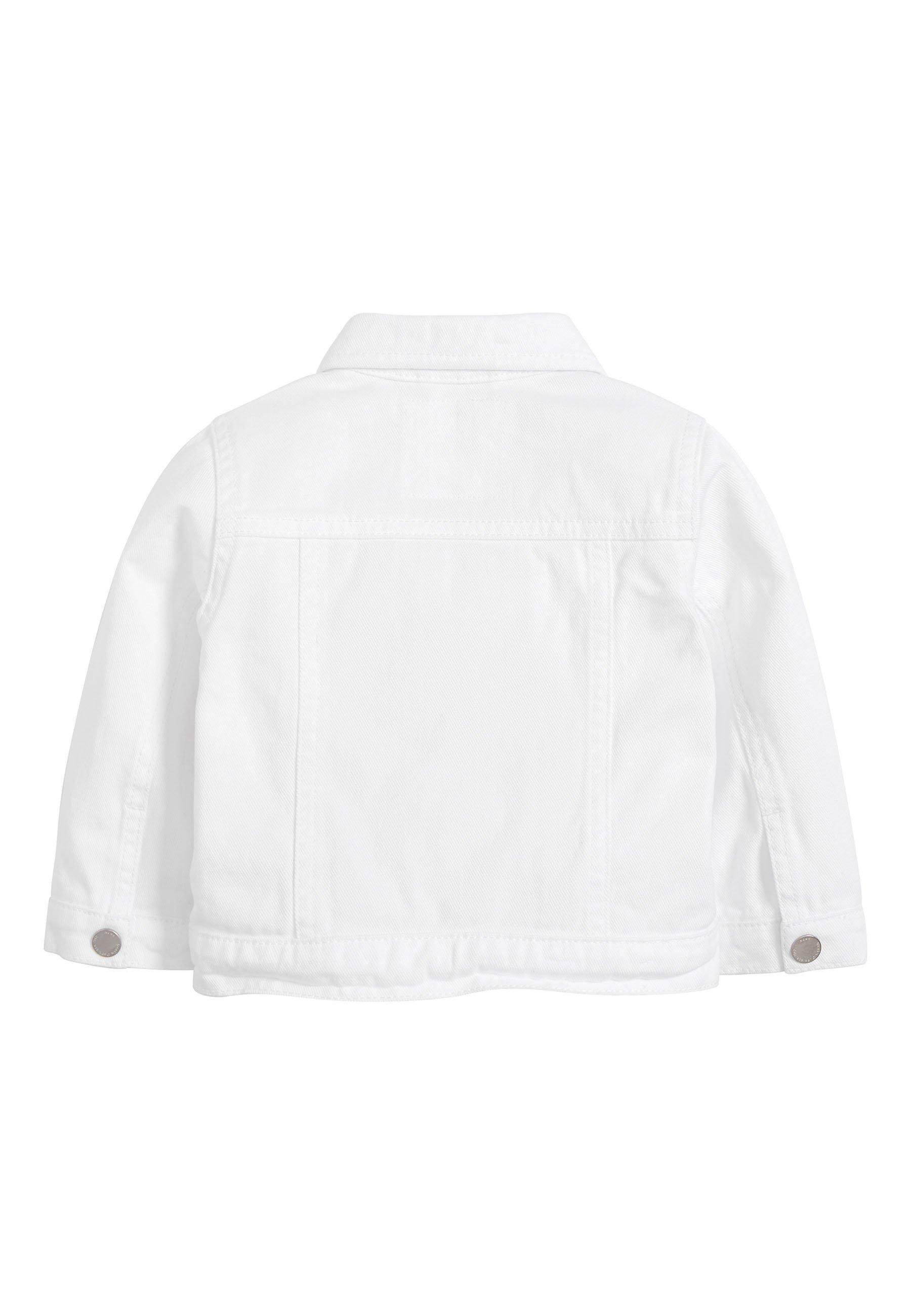 Next Denim Jacket - White