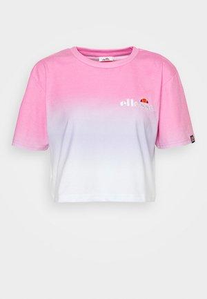 RERTA FADE - T-shirt imprimé - pink