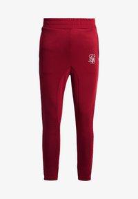 SIKSILK - TECH ATHLETE TRACK PANTS - Spodnie treningowe - burgundy - 3