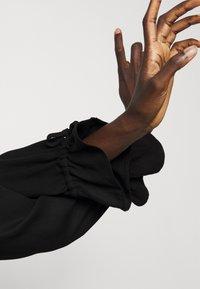Bruuns Bazaar - PRALENZA DAIJA DRESS - Košilové šaty - black - 3