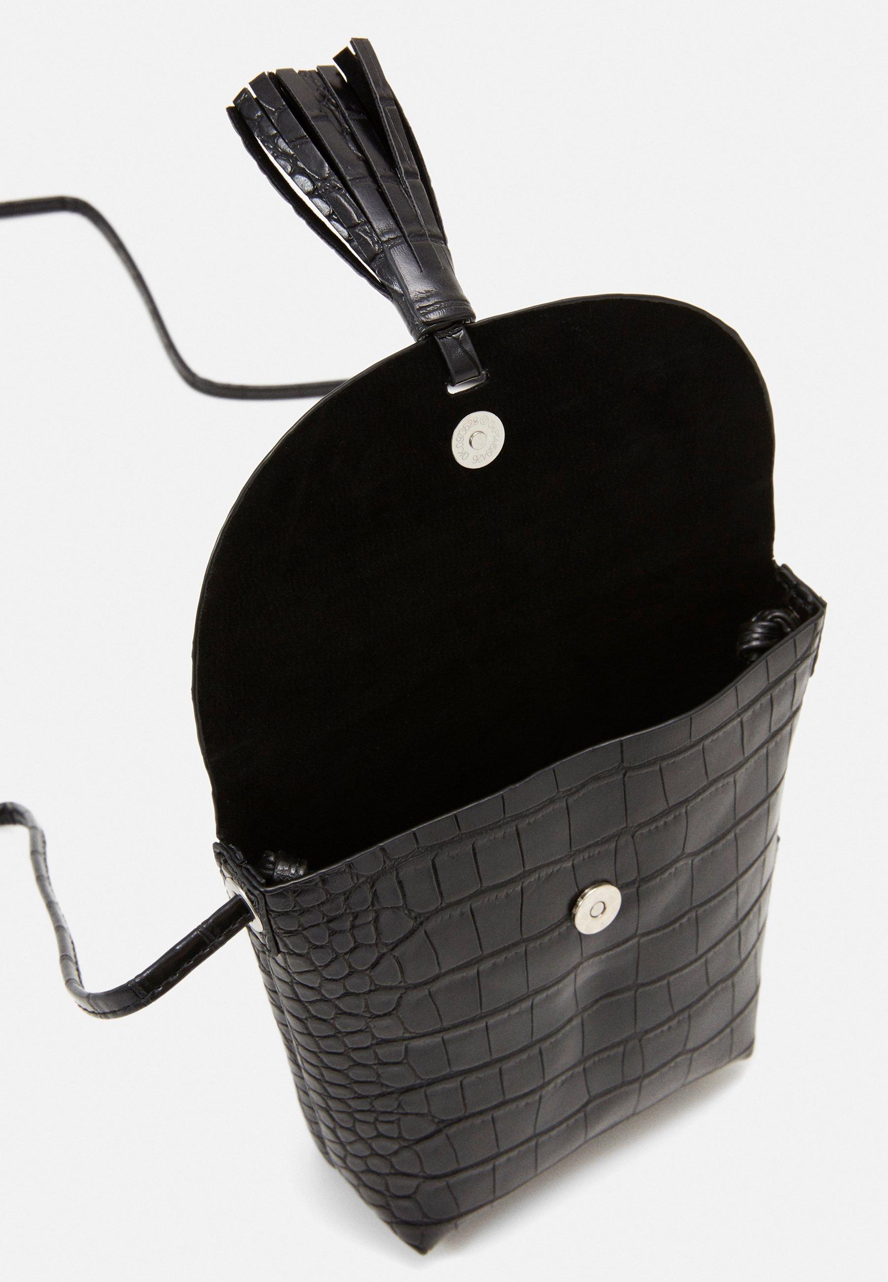 TOM TAILOR DENIM IDA CROC - Skulderveske - black/svart c4wSZLsYlQ3VGNJ