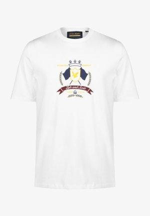 CREST - Print T-shirt - white