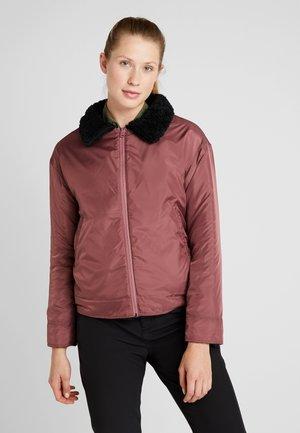 LYNX FLEECEJACKET - Snowboard jacket - black