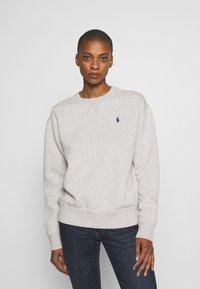 Polo Ralph Lauren - LONG SLEEVE - Sweatshirt - mottled grey - 0