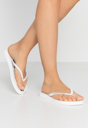 DASHEEN - Chanclas de dedo - white/black