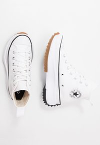 Converse - RUN STAR HIKE - Baskets montantes - white/black - 5