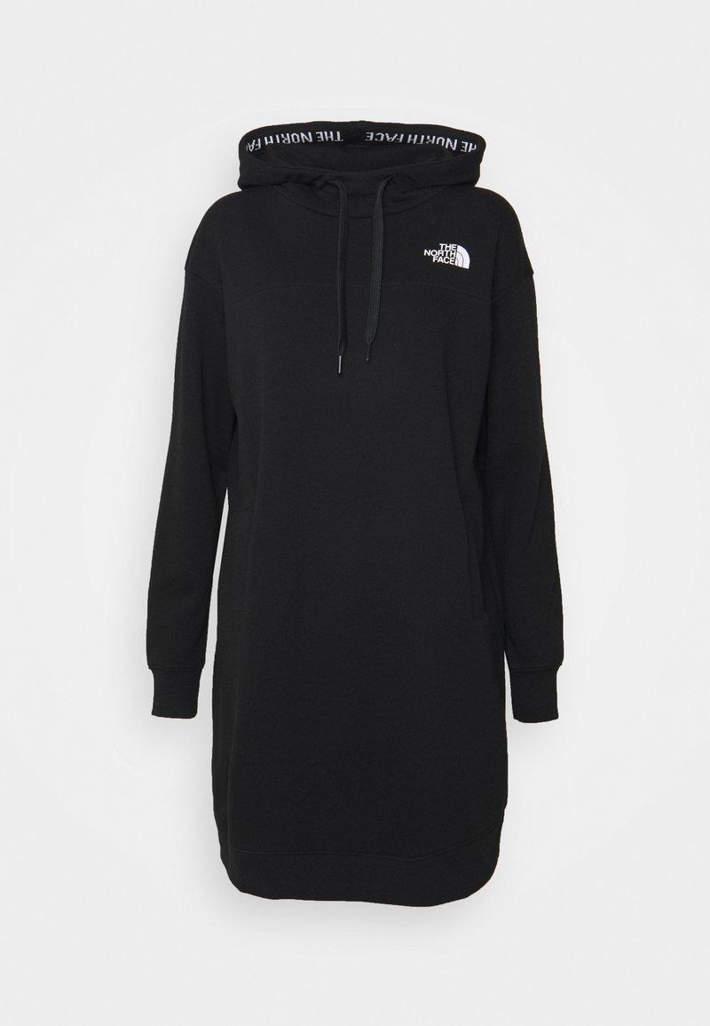 The North Face - HOODED DRESS ZUMU - Vapaa-ajan mekko - black