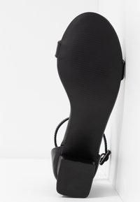 Rubi Shoes by Cotton On - LOLA BLOCK HEEL - Sandály - black - 6
