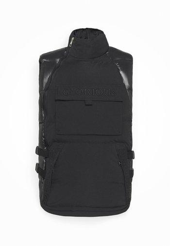 ABREOGILET - Vest - black