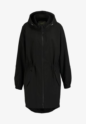 Parka - black solid