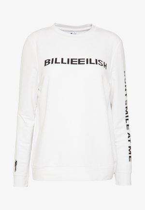 ONLBILLIE EILISH - Long sleeved top - bright white