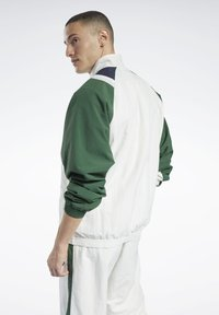Reebok Classic - CLASSICS TWIN VECTOR TRACK TOP - Training jacket - white - 2