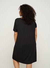 Zizzi - VFREJA DRESS - Jersey dress - black - 2