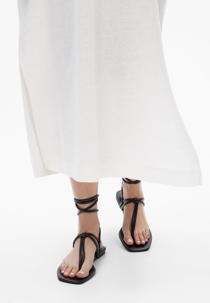Massimo Dutti - Sandals - black