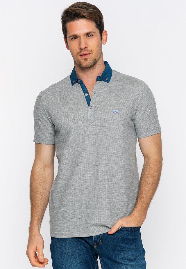 Poloshirt - grey mel.