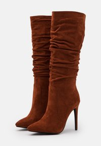 RAID - SELAH - High heeled boots - cognac - 2