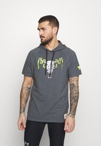 Under Armour - PROJECT ROCK - Print T-shirt - pitch gray - 0