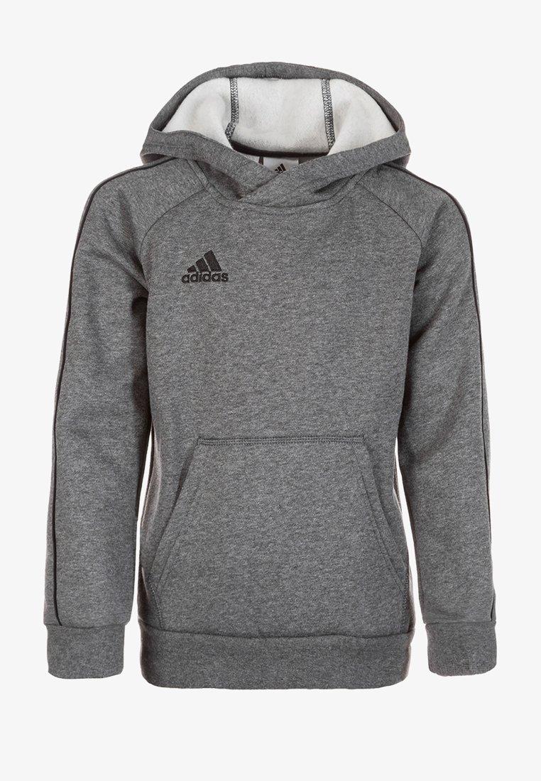 adidas Performance - CORE - Kapuzenpullover - grey/black